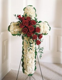 The FTD Floral Cross Easel Wreath #4