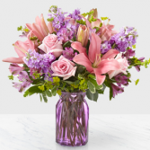 The FTD Full Of Joy Boquet Vase Arrangement
