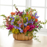 The FTD Garden of Life Basket Basket Arrangement