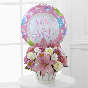 The FTD® Girls Are Great!™ Basket Arrangement