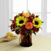 The FTD® Giving Thanks™ Bouquet by Better Homes an FTD Codified Vase