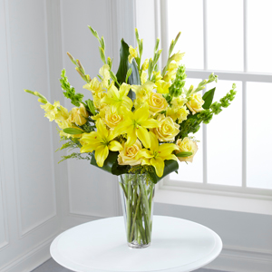 The FTD® Glowing Ray™ Bouquet Bouquet - Vase Included