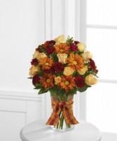 The FTD Golden Autumn Bouquet