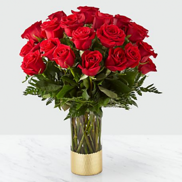 The FTD Gorgeous Red Rose Bouquet