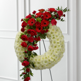 The FTD® Graceful Tribute™ Wreath Wreath