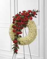 The FTD Gracefull Tribute Wreath Wreath #10