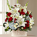 The FTD Greater Glory Basket  Sympathy