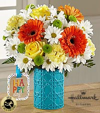 The FTD Happy Day Birthday bouquet