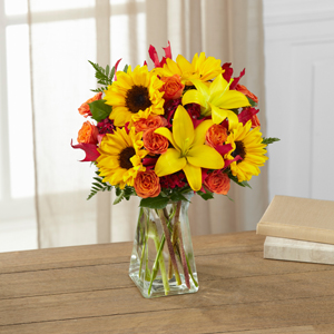 The FTD® Harvest Heartstrings™ Bouquet Bouquet - VASE INCLUDED