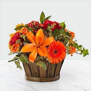 The FTD® Harvest Memories™ Basket Basket Arrangement