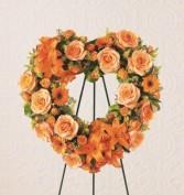 The FTD Hearts Eternal Wreath Wreath #5