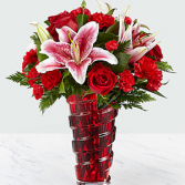 The FTD Higher Love Bouquet Bouquet- VASE INCLUDED