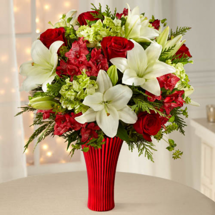 FTD Holiday Celebrations Bouquet 16-C1 Christmas