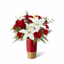 The FTD® Holiday Celebrations® Bouquet Vase