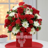 The FTD Holiday Cheer Bouquet Christmas
