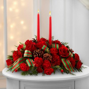 Holiday Classic Centerpiece The FTD  B15-4924D