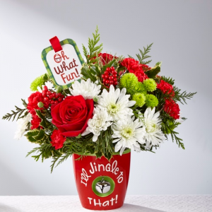 The FTD® Holiday Delights™ Bouquet  in Clarksville, TN | FLOWERS BY TARA AND JEWELRY WORLD
