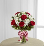 The FTD Holiday Enchantment Bouquet