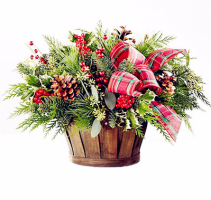 The FTD® Holiday Homecomings™ Basket Arrangment