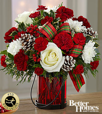 The FTDR Holiday WishesTM Bouquet By Better Homes A C 6 In Hesperia