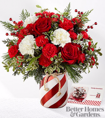 The FTD® Holiday Wishes™ Bouquet by Better Homes & arrangement