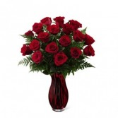 The FTD In Love with Red Roses Bouquet 15-V7