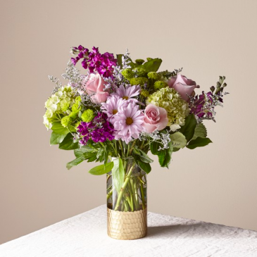 The FTD Lavender Bliss Bouquet 21-S1
