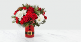 The FTD® Let's Be Jolly Bouquet – Deluxe