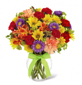 The FTD® Light and Lovely™ Bouquet- VASE INCLUDED