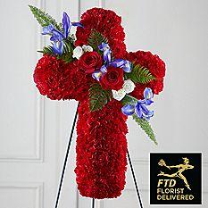 The FTD® Living Cross Easel