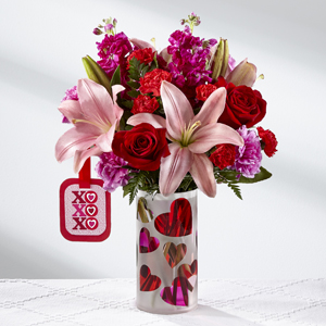 Love You XO Bouquet Valentine's Day