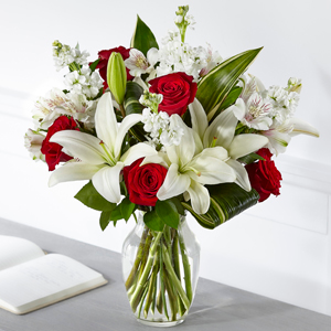 The FTD Loving Respect Bouquet Vase Arrangement