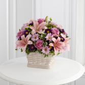 The FTD® Loving Sympathy™  Basket Arrangement