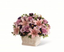 The FTD Loving Sympathy Basket Arrangement