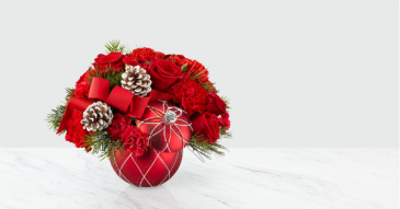 The FTD® Making Spirits Bright Bouquet – Deluxe