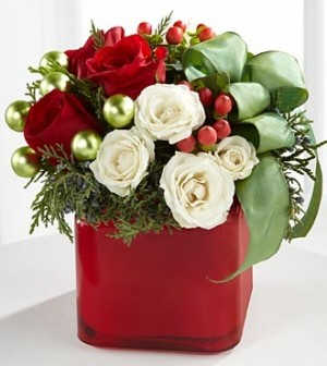 The FTD® Merry & Bright™ Bouquet  in Springfield, IL | FLOWERS BY MARY LOU INC