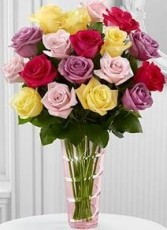 Mixed Rose Bouquet Roses