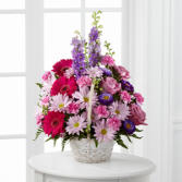 The FTD® Pastel Peace™ Basket Arrangement