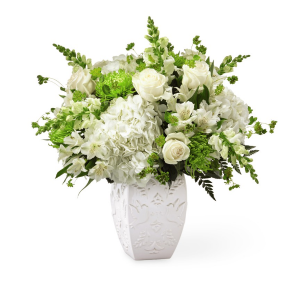 The FTD Peace and Hope Green Bouquet  in Livermore, CA | KNODT'S FLOWERS