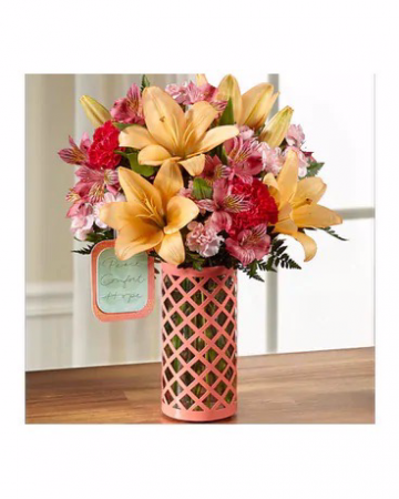 THE FTD® PEACE, COMFORT AND HOPE™ BOUQUET BY HALLM