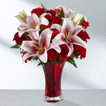The FTD® Perfect Impressions Bouquet  Red Pink