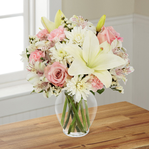 The FTD® Pink Dream™ Bouquet - Vase Included