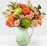 The FTD Pop Of Color Boquet Vase Arrangement