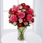 The FTD® Precious Heart™ Bouquet C15-4790 Vased Arrangement