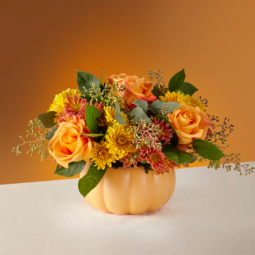 The FTD Pumpkin Spice Forever Bouquet