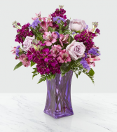 The FTD Purple Presence Vase Arrangement