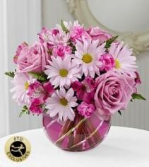The FTD Radiant Blooms Bouquet Flower Arrangement