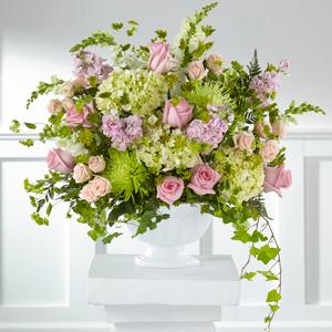 The FTD Radiant Embrace Arrangement Vase Arrangement