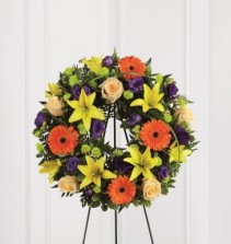 The FTD Radiant Rembrance Wreath Wreath #9