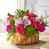 The FTD Radiant Remembrance Basket Basket Arrangement